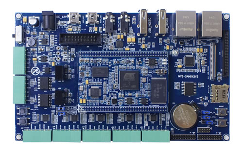 MYC-SAM9X5V2系列核心板测试底板